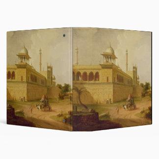 Jami Masjid Delhi 1811 oil on canvas Binder