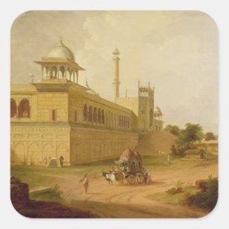 Jami Masjid, Delhi, 1811 (oil on canvas) Sticker