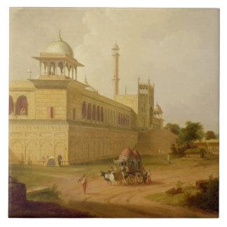 Jami Masjid, Delhi, 1811 (oil on canvas) Tile