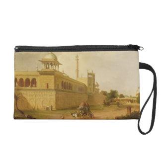 Jami Masjid, Delhi, 1811 (oil on canvas) Wristlet