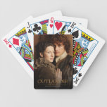 Jamie & Claire embrace photograph Bicycle Playing Cards