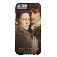 Jamie & Claire embrace photograph Barely There iPhone 6 Case