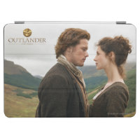 Jamie & Claire face to face photograph iPad Air Cover