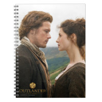 Jamie & Claire face to face photograph Spiral Note Books