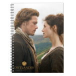 Jamie & Claire face to face photograph Spiral Notebook