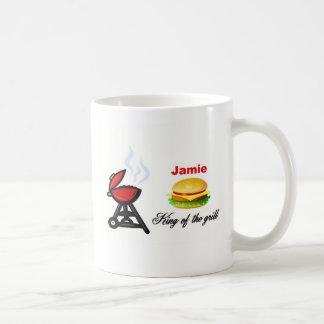 Jamie king of the grill coffee mug