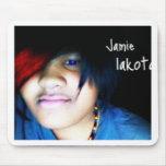 Jamie lakota offical shirt mousepads