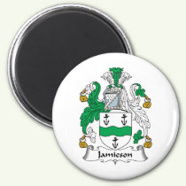 Jamieson Family Crest Magnet