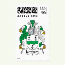 Jamieson Family Crest Stamps