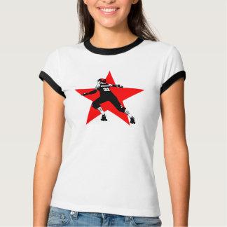 jammer star white ringer T-Shirt