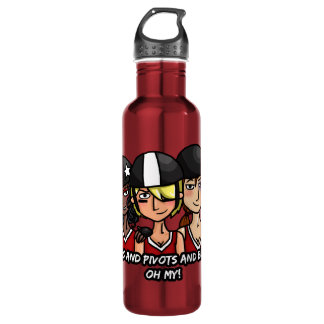 Jammers pivots blockers oh my 24oz water bottle