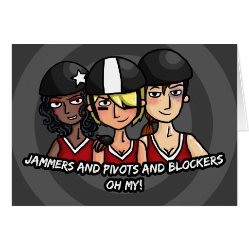 Jammers pivots blockers oh my greeting card