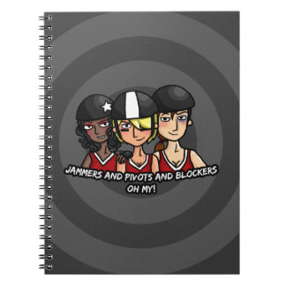 Jammers pivots blockers oh my notebooks