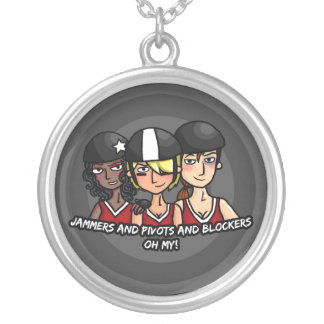 Jammers pivots blockers oh my round pendant necklace