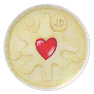 Jammie Dodger Biscuit Plate