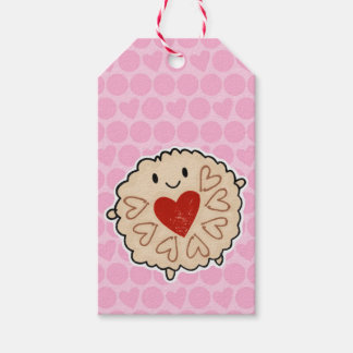 Jammie Dodger Watercolour Pack Of Gift Tags