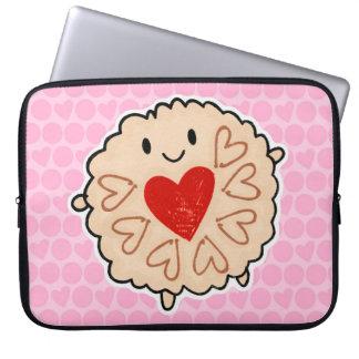 Jammie Dodger Watercolour Laptop Sleeve