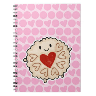 Jammie Dodger Watercolour Note Book