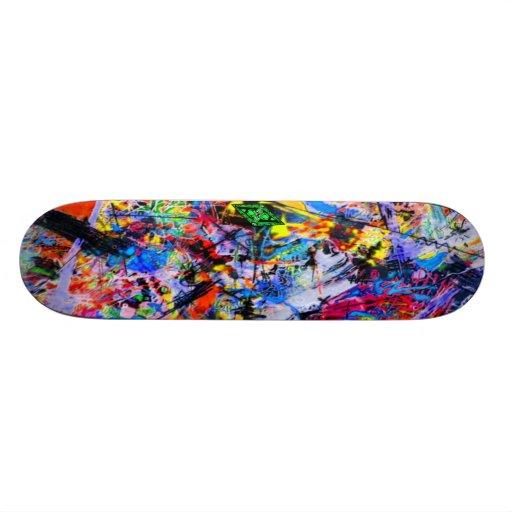 Jammin con Jackson - arte de la pintada Sk8 Tabla De Skate