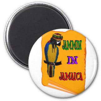 Jammin en Jamaica Imán Redondo 5 Cm