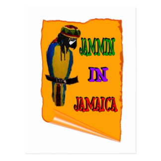 Jammin en Jamaica Tarjetas Postales
