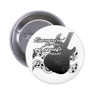 Jammin for the Lamb 2 Inch Round Button