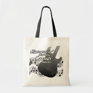 Jammin for the Lamb Canvas Bag