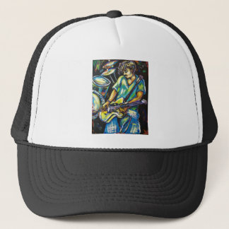 JAMMIN GUITAR TRUCKER HAT