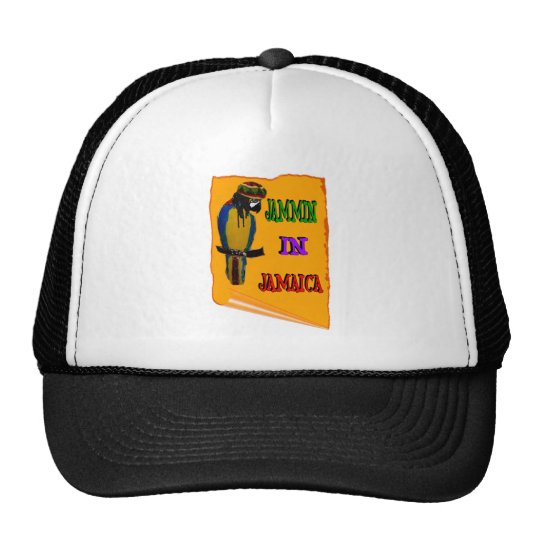 Jammin' in Jamaica Trucker Hat