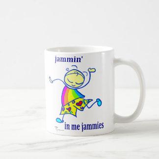 Jammin in me jammies coffee mug