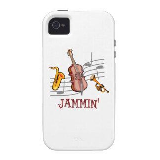 Jammin Jazz Vibe iPhone 4 Covers