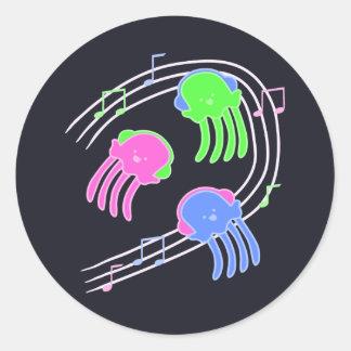 Jammin' Jellyfish Sticker