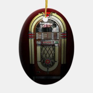 Jammin' Jukebox Christmas Ornament