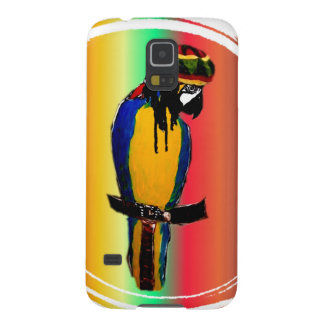 JAMMIN PARROT GALAXY S5 CASES