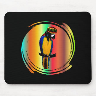 JAMMIN PARROT MOUSE PAD