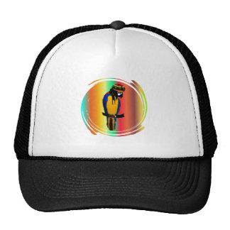 JAMMIN PARROT TRUCKER HAT