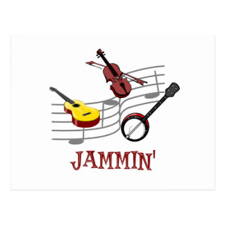 Jammin Postcard