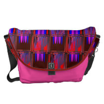 Jammin Preserves Large Courier Bag