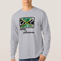 Jammin Proud To Be Jamaican Men's Long Sleeve T-Shirt