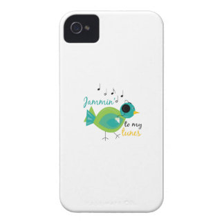 Jammin To Tunes iPhone 4 Cover