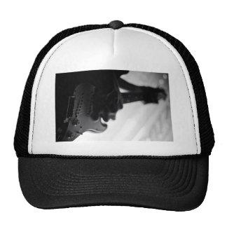 Jamming guitar trucker hat