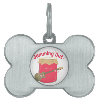 Jamming Out Pet ID Tag