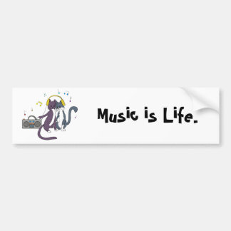 Jamming out Together Bumper Sticker