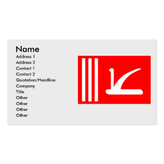 Jammu Kashmir, India Double-Sided Standard Business Cards (Pack Of 100)