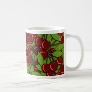 Jammy Cherry pattern Coffee Mug