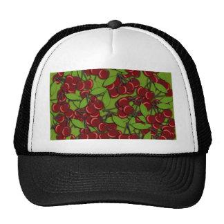 Jammy Cherry pattern Trucker Hat