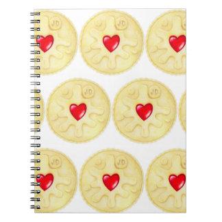 Jammy Dodger Biscuit Notebook