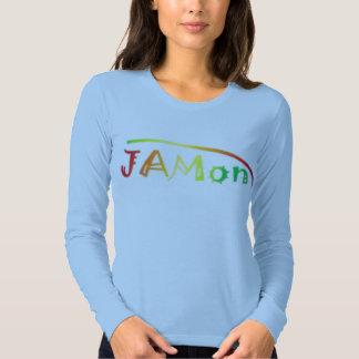jamon army womens long t shirt