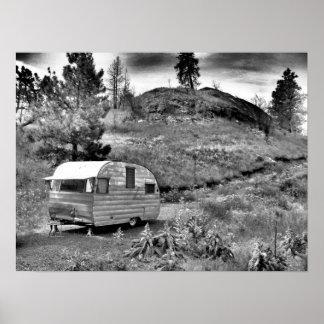 Jamón conservado Shasta de B&W 56 Póster
