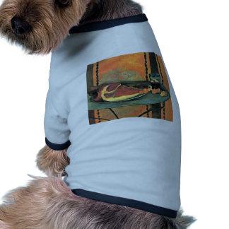 Jamón de Der de Gauguin Paul (la mejor calidad) Camiseta De Perrito